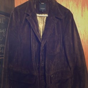 Ted Baker 💯 % Leather Men's Jacket. Size 3